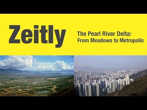 Pearl River Delta: From Meadows to Metropolis