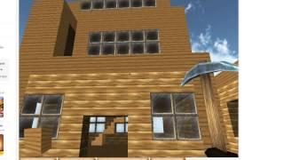 Как построить нормальненький дом в Копатель Онлайн(Вот вам видео!Скоро будет видео как сделать фигуру Angry Birds!, 2013-03-28T15:36:34.000Z)