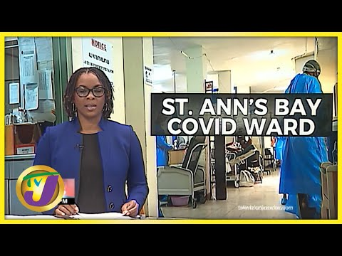 Inside the St. Ann's Bay Hospital   TVJ News
