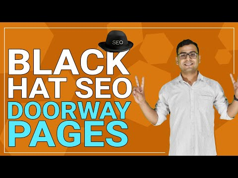 [SEO] What Are Doorway Pages In Black Hat SEO? | Explained | (In Hindi)