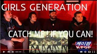 소녀시대 GIRLS' GENERATION Catch Me If You Can MV (NON KPOP FANS) 취한 DRUNK REACTION