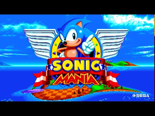 Sonic Mania (видео)