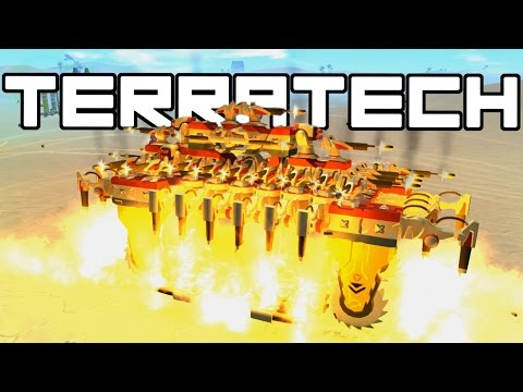 Terra Tech – Flaming Buzz Saw! – TerraTech Gameplay