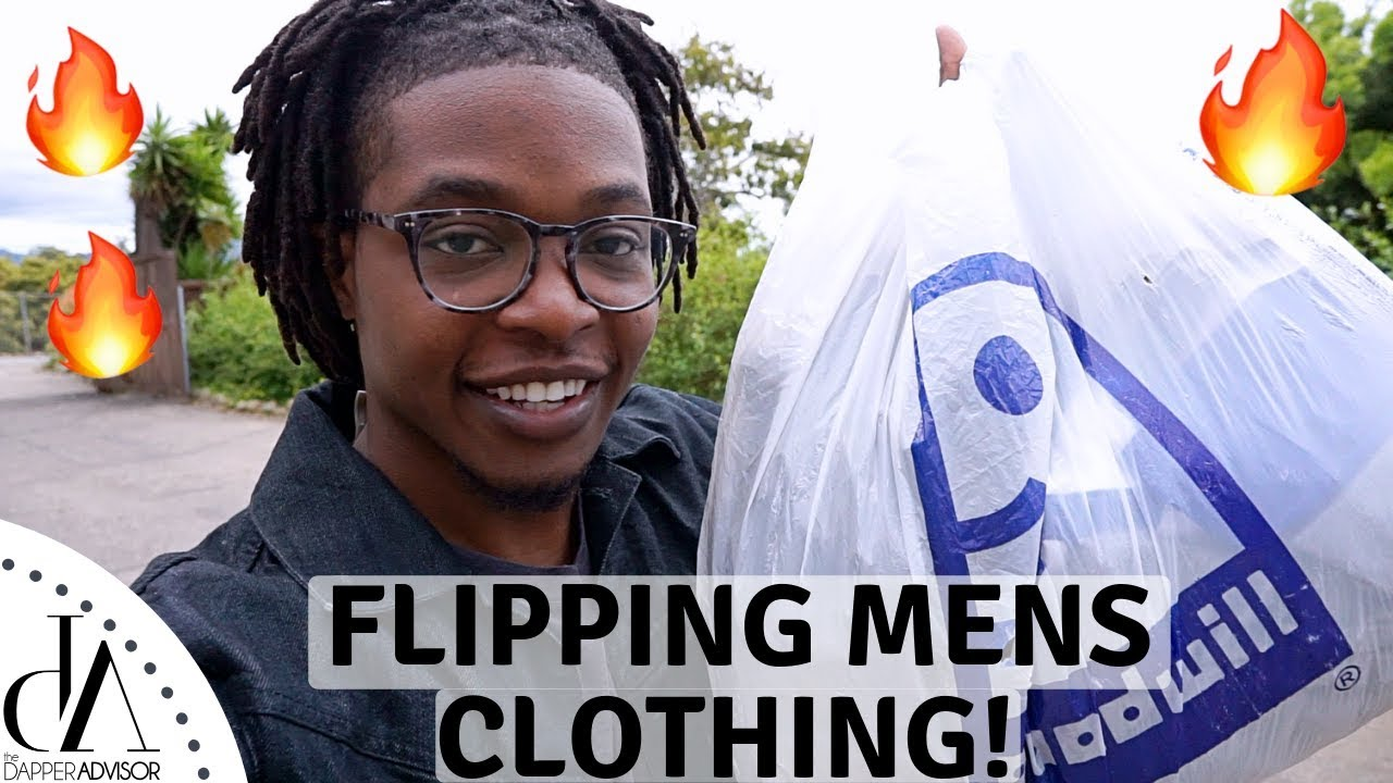 Flipping Men's Clothing For Profit! | Trip To The Thrift #3 3