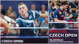PITCHFORD Liam - OVTCHAROV Dimitrij @ Czech Open 25/08/2018 (private video HD)