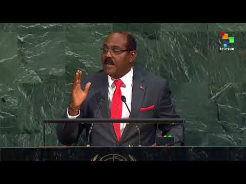 Gaston Browne's speech at United Nations