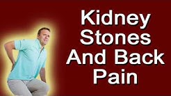 Kidney Stones And Back Pain