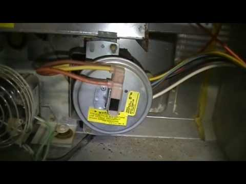 Limit switch on Carrier furnace YouTube