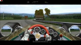 Grand Prix Legends - Spa Francorchamps - Driving on the edge