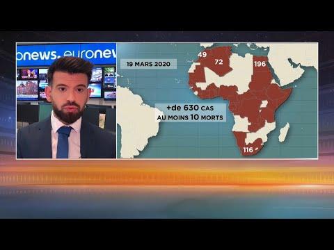 Le #coronavirus se propage en Afrique, de nombreux pays suspendent leurs liaisons aériennes