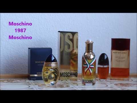 """Moschino"" Moschino против ""Boucheron"" Boucheron EdT"