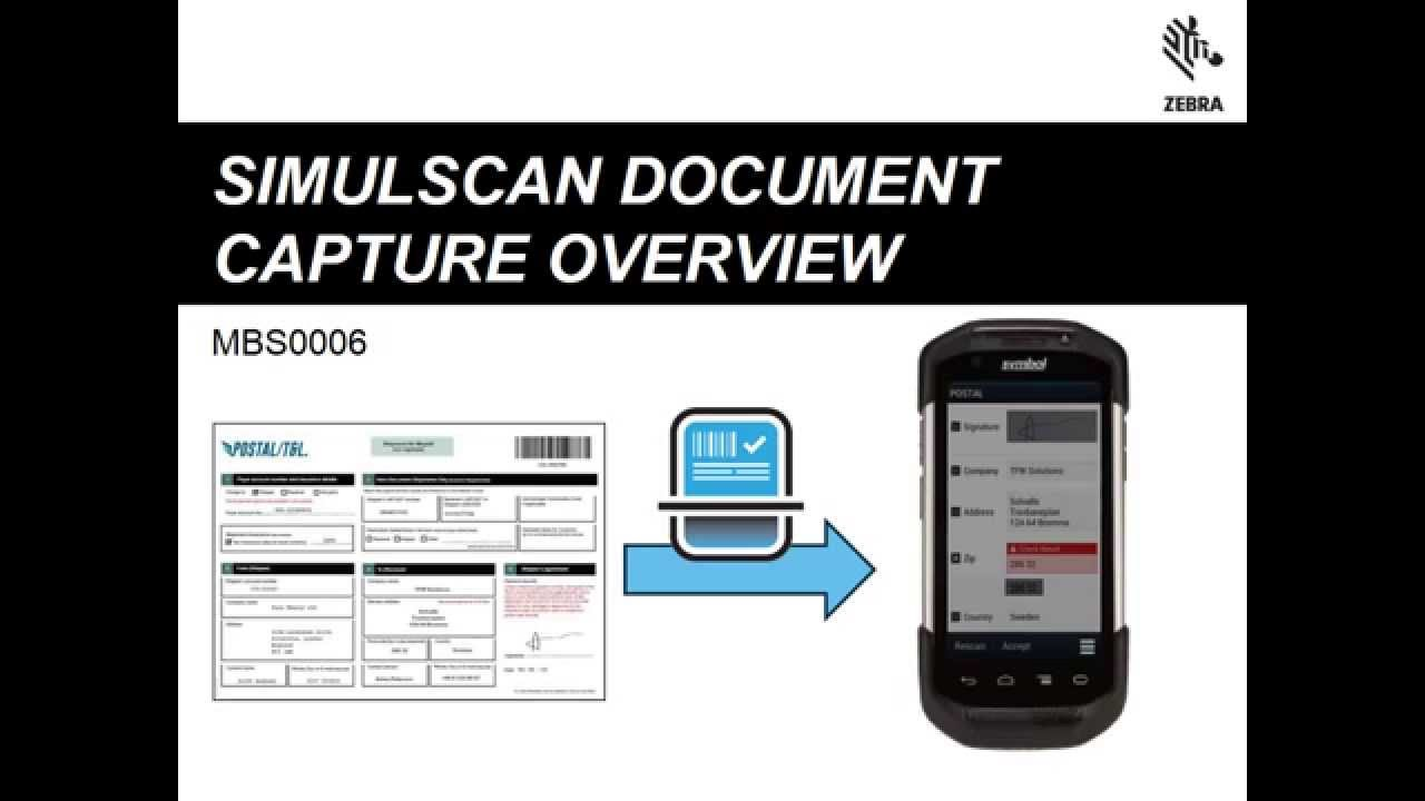 MBS0006 - SimulScan Document Capture Overview