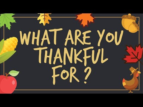 Donnelly College: What are you thankful for?