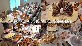Dia de Acción de Gracias 🙏🏻  | Decoración | Como preparar el pavo 🦃