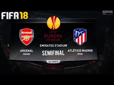 FIFA 18 predictions- Arsenal vs Atletico @ the Emirates