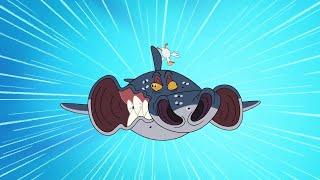 Зиг и Шарко 🐝 величественный полет 🐝 русский мультфильм | дети видео | мультфильмы |