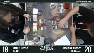 Legacy Finals Nic Fit vs RUG Delver - February 15th, 2015 - Docking Bay 94