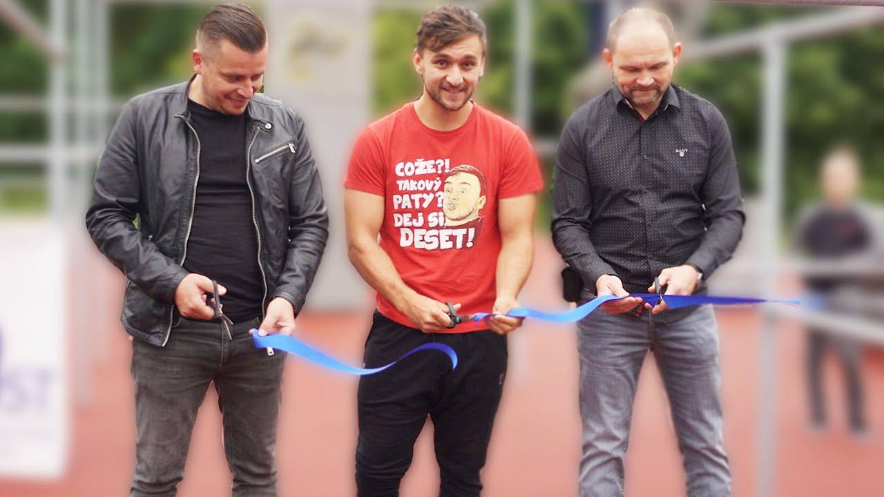 DYCKY MOST! | Slavnostně otevírám nové parkourové hřiště v Mostě!
