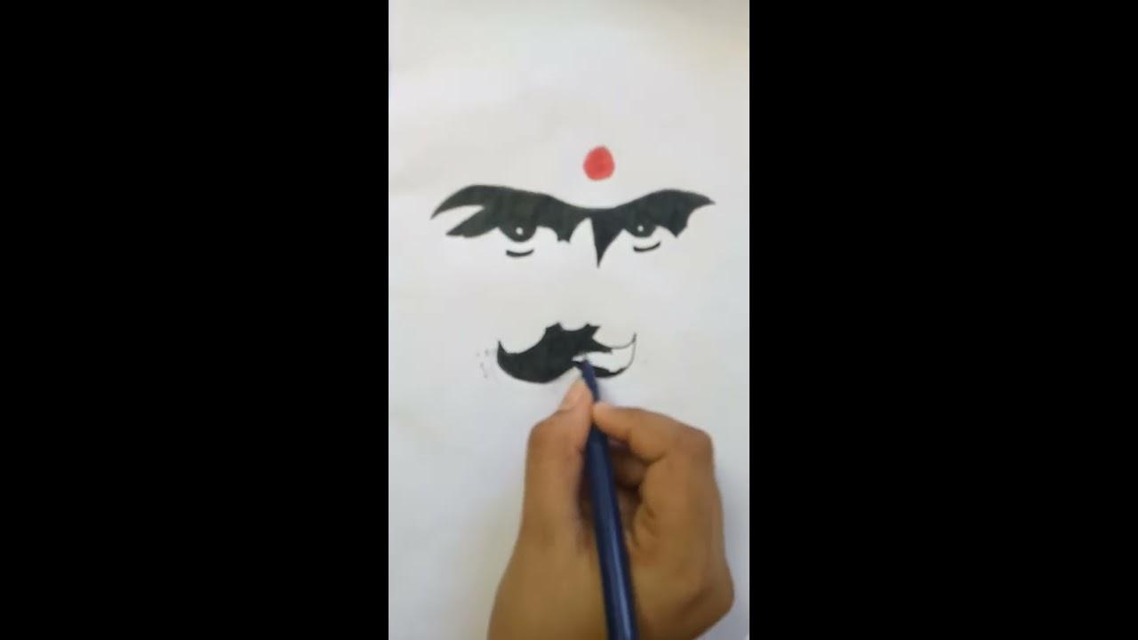 How to draw hio hop tamizha logo. pencil drawing ...