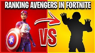 RANKING AVENGERS ENDGAME WEAPONS IN FORTNITE FROM WORST TO BEST!