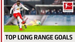 Best Long Range Goals of the 2017/18 Season - Keita, Bailey, Gnabry & Co.