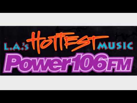 KPWR Power 106 Los Angeles - Jay Thomas - August 1991