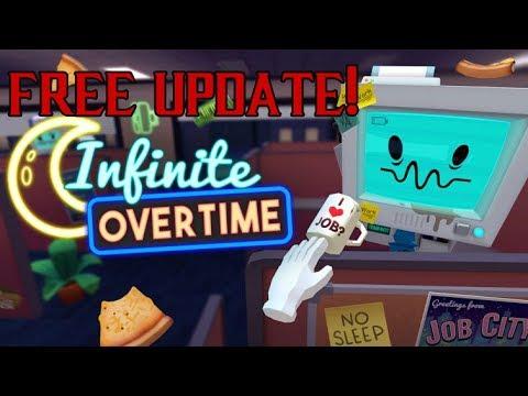 PSVR - Job Simulator Infinite Overtime UPDATE! (Free Download)