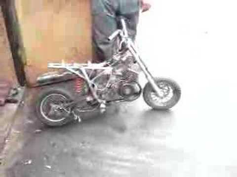Pocket Moped Pocket Bike Mit S50 Motor Youtube