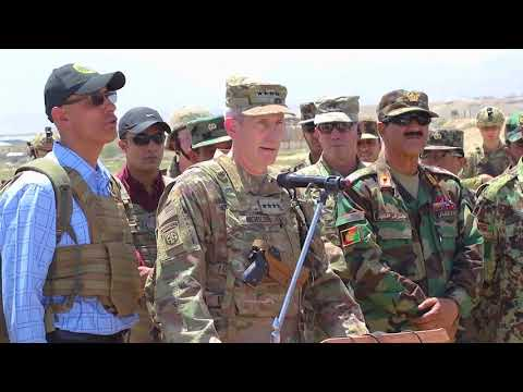 Resolute Support Commander Visits Kabul Military Training Center, KABUL, AFGHANISTAN, 06.11.2018