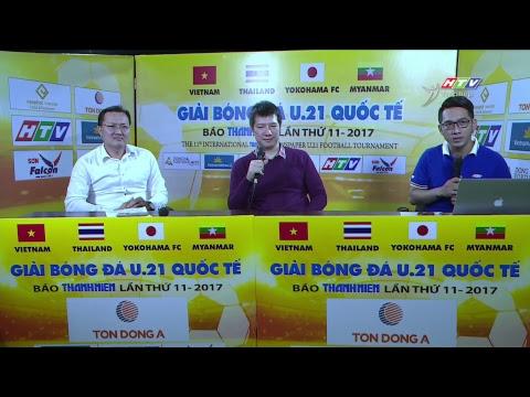 U21 Bao Thanh nien | U21 Yokohama - U21 Việt Nam | 20/12/2017