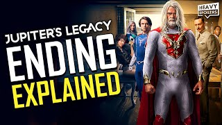 JUPITER'S LEGACY Ending Explained Breakdown, Comic Differences And Season 2 Predictions & Theories