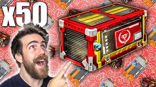 50 NEW TRIUMPH ROCKET LEAGUE CRATE OPENING!