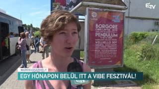Egy hónapon belül itt a Vibe fesztivál! – Erdélyi Magyar Televízió