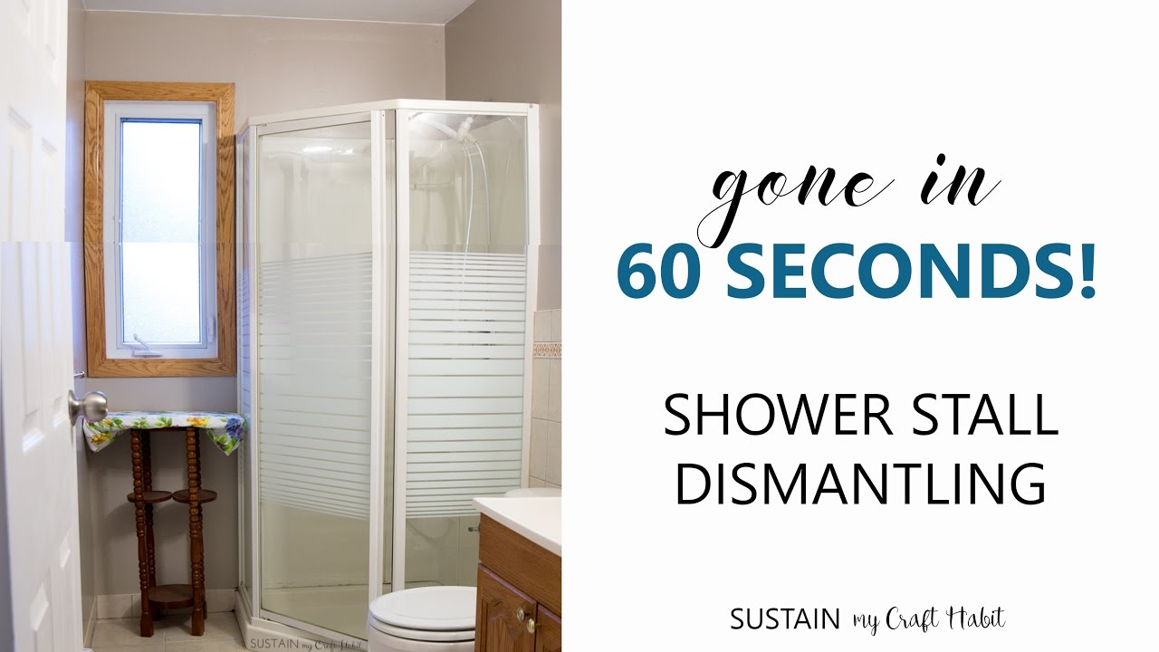 How To Dismantle A Shower Enclosure