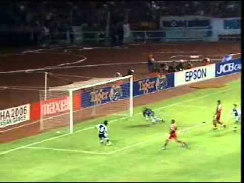 Singapore vs Indonesia : Tiger Cup 2004 Final 1st Leg