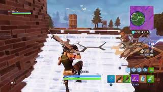 ¡SIN CONSTRUYE DE PIEL INTENSA! Fortnite: Battle Royale