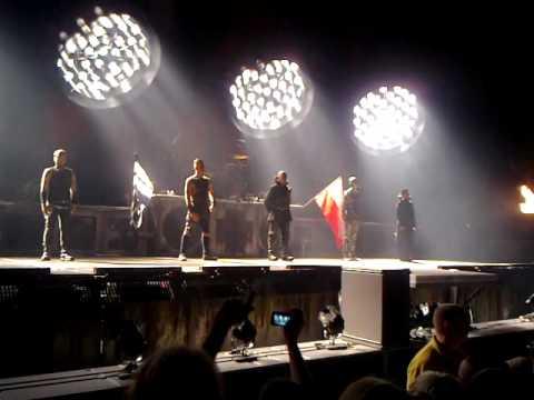 Rammstein Ergo Arena, entree & Sonne, 15.11.2011