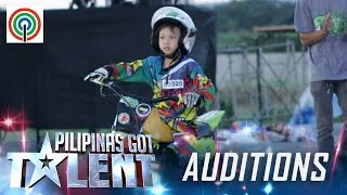 Pilipinas Got Talent Season 5 Auditions: Brian Sescon - Kid Motocross Racer