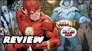 GODSPEED RETURNS! The Flash #36 Review And Breakdown Plus New Black Lighning Tobias Whale Trailer!