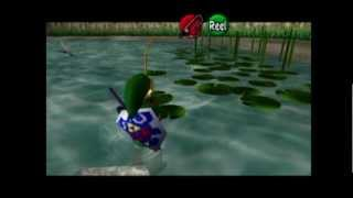 Zelda: Ocarina of Time MQ Playthrough #037, Fishing Pond: Fishing for the Golden Scale