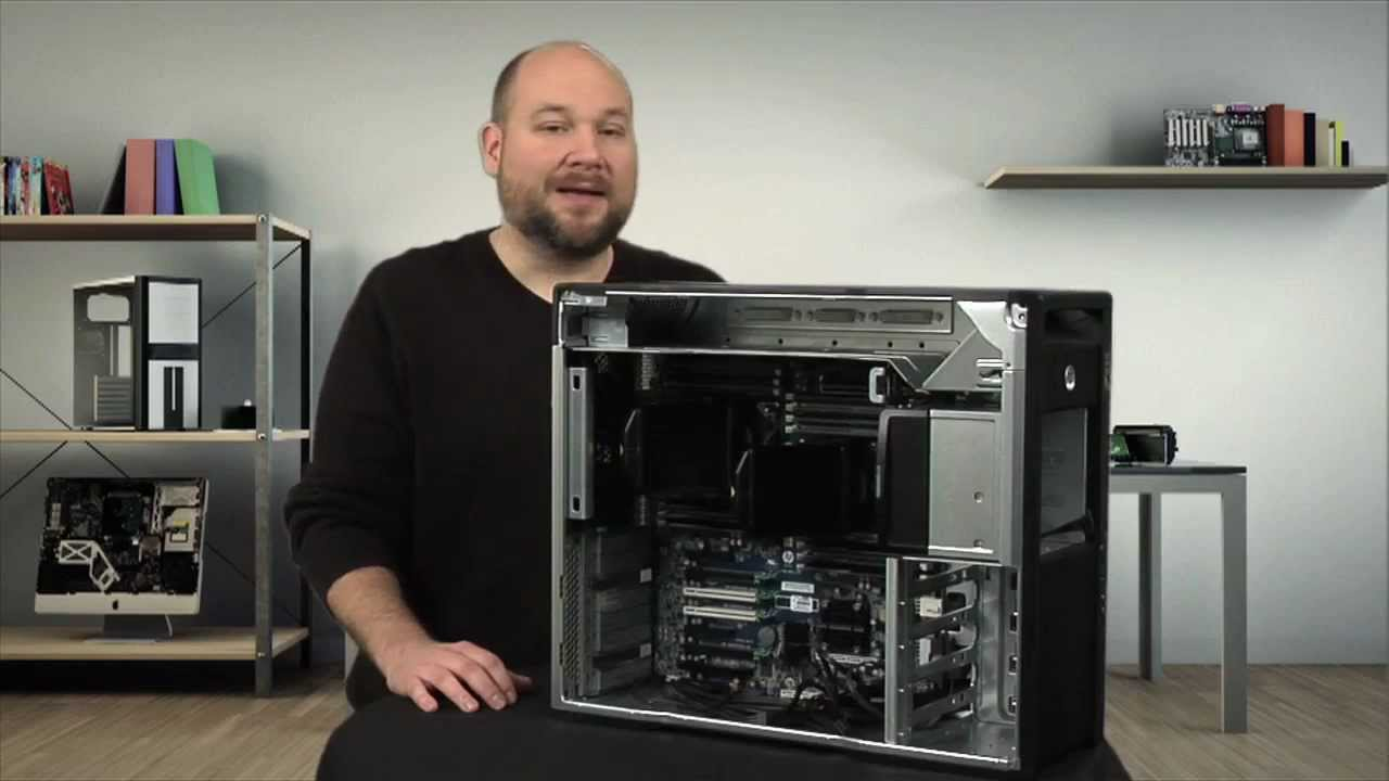 Cracking Open The Hp Z820 Workstation Youtube