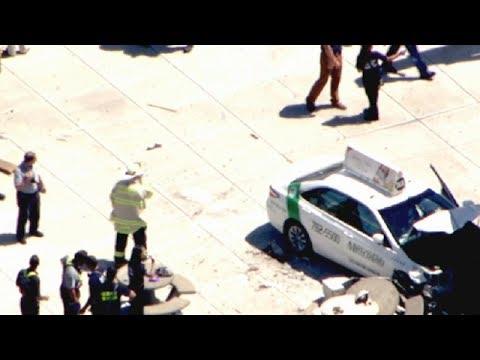 10 hurt after cab strikes pedestrians in Boston