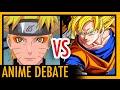 Naruto vs Dragon Ball Z    Anime Debate
