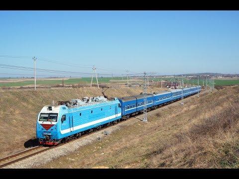 Поезд № 390 Минск-Анапа с ЭП1М-601