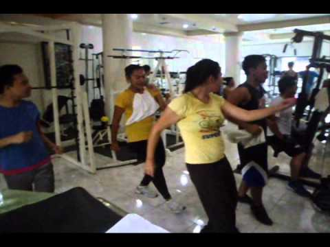 The New ZUMBA dance instructor CHARLIE AGCOL at Powershape GYM (parody Video)