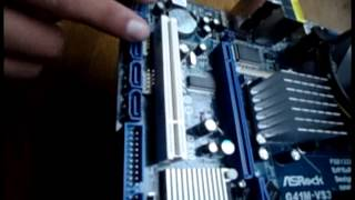"""Esamblaje de computadora """"CORE 2 DUO"""" ASROCK G41M VS3.flv"""
