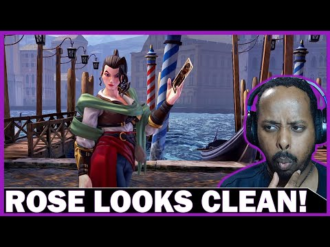 Street Fighter V: Champion Edition - Rose Gameplay Reaction |