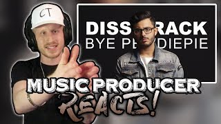 Music Producer Reacts to Bye Pewdiepie   Carryminati