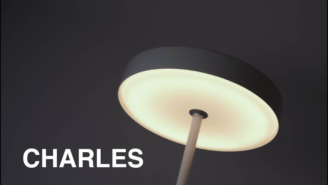 Apliques, colgantes y lámparas de pie de la familia Charles - iMdi iluminación.
