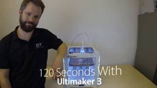 120 Seconds With Ultimaker 3